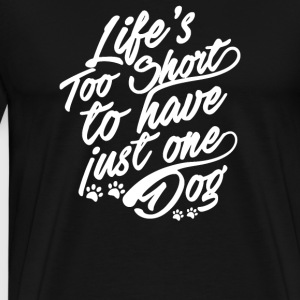 LIFES TOO SHORT - Men's Premium T-Shirt