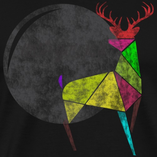 DEER JOY - Men's Premium T-Shirt