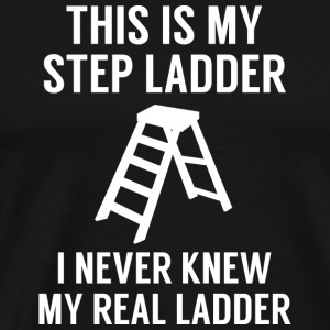 Step Ladder - Men's Premium T-Shirt