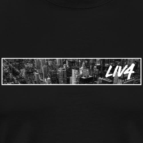 CITY: Chicago (Skyline) - Men's Premium T-Shirt