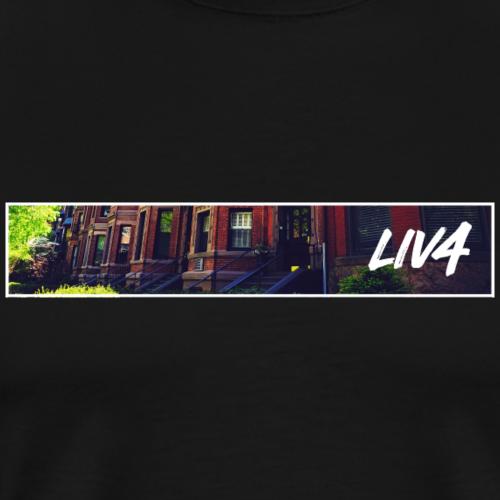 CITY: Boston (Street) - Men's Premium T-Shirt