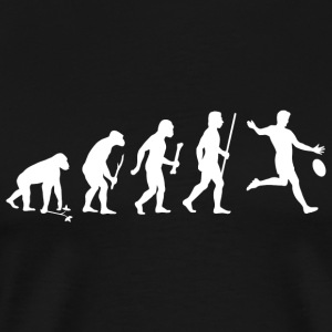 Football - Aussie Rules Evolution - Men's Premium T-Shirt