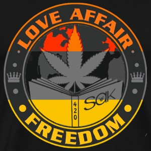 Love Affair - Love Affair Freedom - Men's Premium T-Shirt
