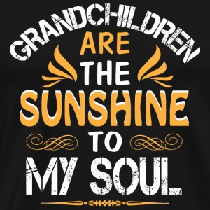 Grandchildren - Grandchildren Are The Sunshine T - Men's Premium T-Shirt