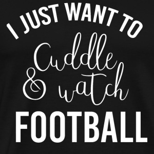Football - Cuddle - Men's Premium T-Shirt