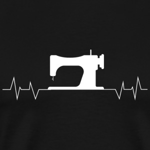Quilter - Quilter Heartbeat Sewing - Men's Premium T-Shirt