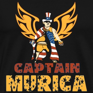 Captain Captain MURICA - Men's Premium T-Shirt