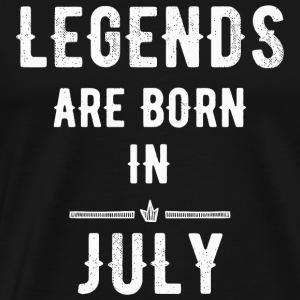 July - Legends Are Born in July - Men's Premium T-Shirt
