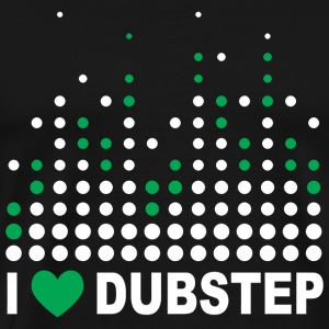 Dubstep - i love dubstep - Men's Premium T-Shirt