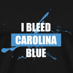Carolina - i bleed carolina blue - Men's Premium T-Shirt