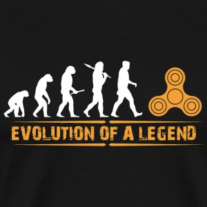 Fidget spinner - Fidget Spinner - Evolution a Le - Men's Premium T-Shirt