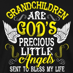 Grandchildren - Grandchildren Are God's Precious - Men's Premium T-Shirt