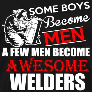 Welder - Gifts for Men Welders gifts Coffee cups - Men's Premium T-Shirt