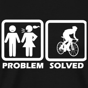 Cycling - Cycling Solved My Problem - Men's Premium T-Shirt