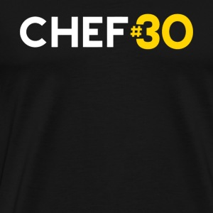 Chef - Golden State Basketball Fan: Chef #30 Cur - Men's Premium T-Shirt