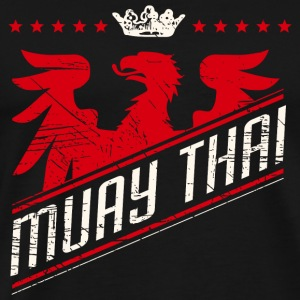 Muay Thai - Eagle Muay Thai Shirt - Men's Premium T-Shirt