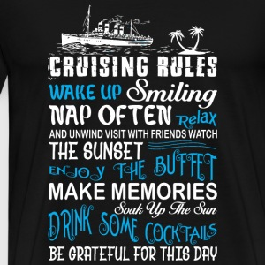 Cruising Rules - Cruising Rules T Shirt - Men's Premium T-Shirt
