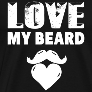 Beard - Beard - Love My Beard - Men's Premium T-Shirt