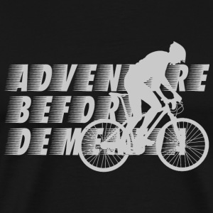 Biker - Adventure Before Dementia T-Shirt For Bi - Men's Premium T-Shirt