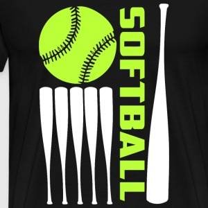Softball - Softball T Shirt - Men's Premium T-Shirt