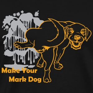 Mark dog - Make Your Mark Dog - Men's Premium T-Shirt