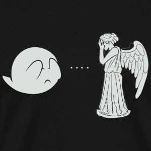 Angel - Boo.. and Angel - Men's Premium T-Shirt