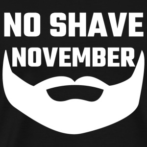 Beard - No Shave November - Men's Premium T-Shirt