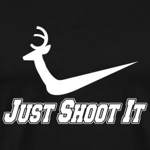 SHOOT - JUST SHOOT IT - Men's Premium T-Shirt