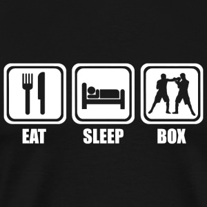 Boxing - Eat Sleep Boxing - Men's Premium T-Shirt