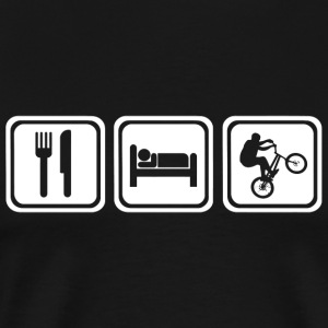 BMX - Eat Sleep BMX - Men's Premium T-Shirt