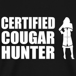 Hunter - Certified Cougar Hunter - Men's Premium T-Shirt