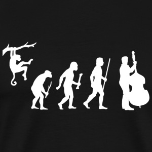Double Bass - Funny Double Bass Evolution - Men's Premium T-Shirt