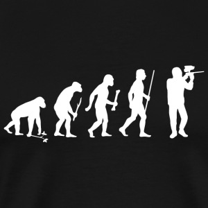 Paintball - Evolution of Paintball - Men's Premium T-Shirt