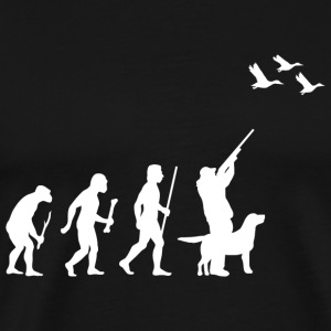 DuckHunting - Evolution of Man and DuckHunting - Men's Premium T-Shirt