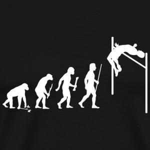 High Jump - Evolution of Man and High Jump - Men's Premium T-Shirt
