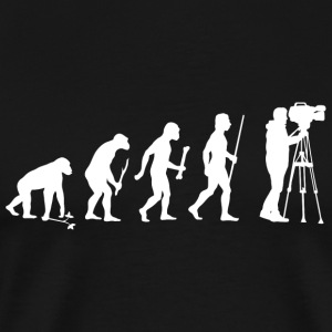 Cameraman - Evolution Of Cameraman - Men's Premium T-Shirt