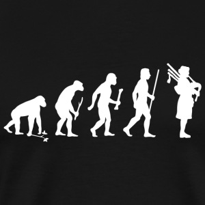 Bagpipes - Bagpipes Evolution - Men's Premium T-Shirt