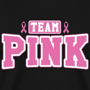 Cancer - Team Pink - Men's Premium T-Shirt