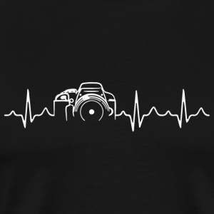 Photographer - Photographer - HeartBeat Photogr - Men's Premium T-Shirt