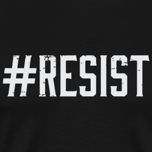 Resist - #Resist - Men's Premium T-Shirt