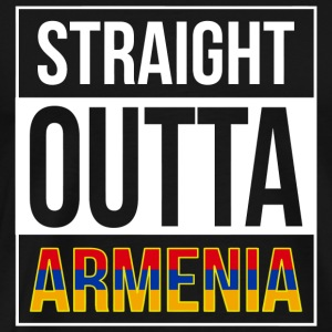 Armenia - Straight Outta Armenia - Men's Premium T-Shirt
