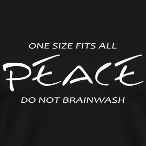 Peace - Peace -- One Size Fits All - Men's Premium T-Shirt