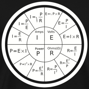 Electrical - Ohm's Law Electrical Engineering - Men's Premium T-Shirt