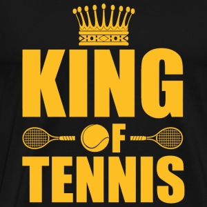 Tennis - King of Tennis - Men's Premium T-Shirt