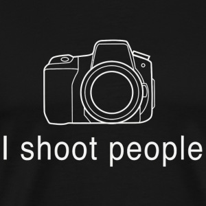 Photographer - I shoot people for photographers - Men's Premium T-Shirt