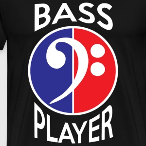 Bass Player - Bass Player in Red White and Blue - Men's Premium T-Shirt