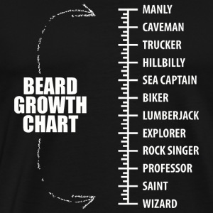 Beard - A beard guide for those who need it - Men's Premium T-Shirt