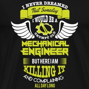 Mechanical Engineer - Grumpy Old Mechanical Engi - Men's Premium T-Shirt