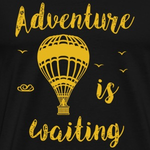 Hot rod - Adventure is Waiting , Adventure Hot A - Men's Premium T-Shirt