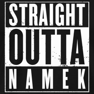 Namek - Straight Outta Namek Funny Anime - Men's Premium T-Shirt